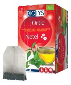 Infusion ortie (Fatigue articulaire et musculaire) BIO, 24 sachets