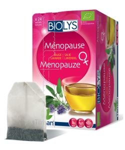 Infusion Ménopause (sauge - lavande) BIO, 24sachets