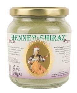 Henné de Shiraz Prune BIO, 150g