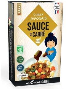 Sauce au Carré Curry Japonais BIO, 18sachets
