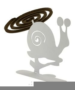 Porte encens spirales Escargot, pièce