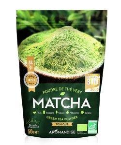 Poudre de thé vert Matcha
