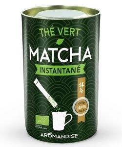 Thé vert Matcha instantané BIO, 25sachets