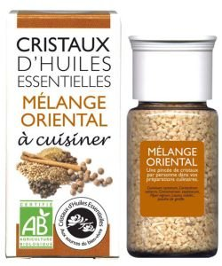 Cristaux d'Huiles Essentielles - Mélange Oriental BIO, 10g