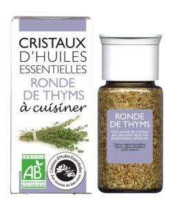 Cristaux d'Huiles Essentielles - Ronde de Thyms BIO, 10g