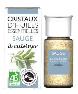 Cristaux d'Huiles Essentielles - Sauge BIO, 10g
