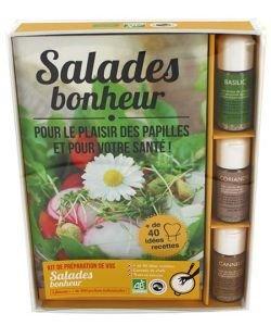 Coffret Salades bonheur BIO, pièce