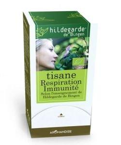 Tisane Respiration Immunité BIO, 18sachets