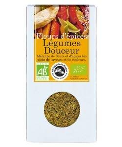 Fleurs d'épices - Légumes douceur BIO, 45g