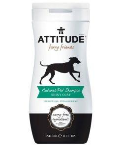 Shampooing naturel Pelage Brillant pour animaux, 240ml