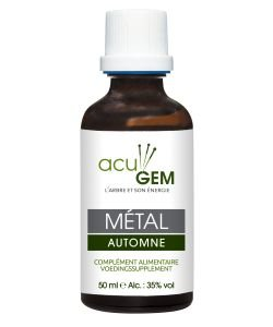 Element METAL - ACUGEM gemmothérapie BIO, 50ml