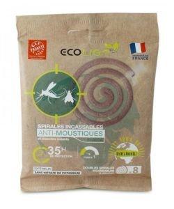 Spirales anti-moustiques Ecocoil, 8pièces