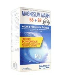 Magnesium marin B6 + B9, 100gélules