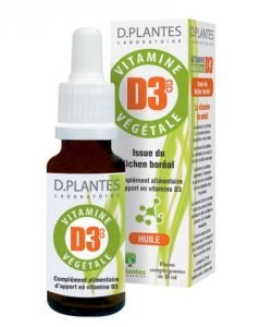 Vitamine D3++ Végétale, 20ml