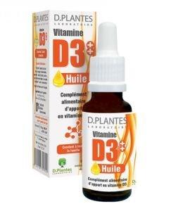 Vitamine D3++ Huile