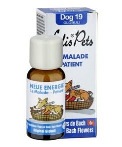 Nouvelle énergie (Le malade) - Dog 19 Globuli BIO, 20g
