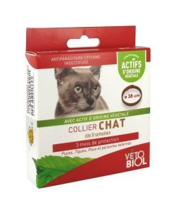 Collier insectifuge CHAT, 1pièce