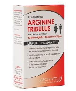 Arginine - Tribulus - emballage abîmé, 60gélules