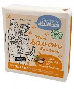 Mon savon douceur à l'huile d'argan - amande/noisette