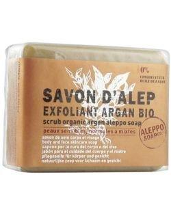 Savon d'Alep Exfoliant Argan, 100g