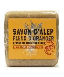 Savon d'Alep Fleur d'Oranger, 100g