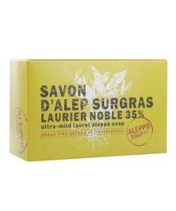 Savon d'Alep Surgras Laurier Noble 35% - peaux très sèches et intolérantes , 150g
