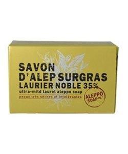 Savon d'Alep Surgras Laurier Noble 35% - peaux très sèches et intolérantes