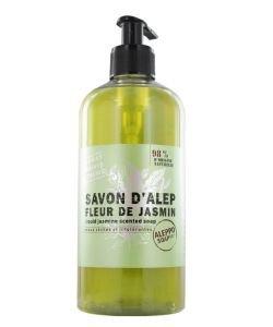 Savon d'Alep Liquide Fleur de Jasmin - peaux sèches et intolérantes