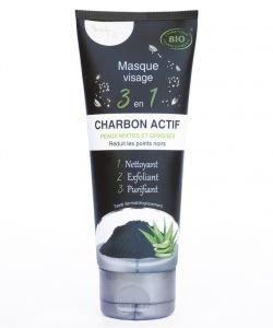 Masque Visage 3 en 1 Charbon Actif
