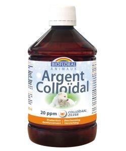 Argent Colloïdal 20 ppm - Animaux, 500ml