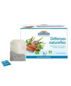 Infusions Défenses naturelles - emballage abîmé BIO, 20sachets
