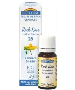 Hélianthème - Rock Rose (n°26), granules sans alcool