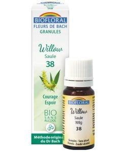 Saule - Willow (n°38), granules sans alcool BIO, 10ml