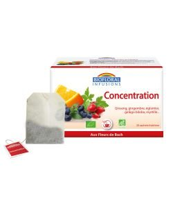 Infusions Concentration  BIO, 20 sachets