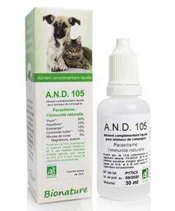 A.N.D. 105 Parasitisme BIO, 30ml