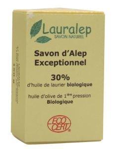 Savon d'Alep Exceptionnel 30 % BIO, 150g