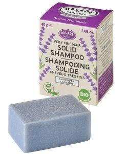 Shampooing Solide - Cheveux très fins BIO, 40g