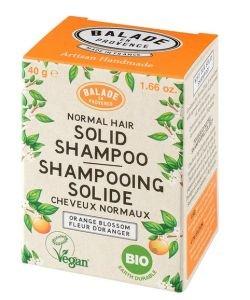 Shampooing Solide Cheveux Normaux Fleur d'oranger