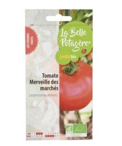 Tomate Merveilles des marchés BIO, 0,15g
