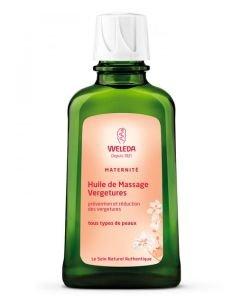 Huile de massage vergetures, 100ml