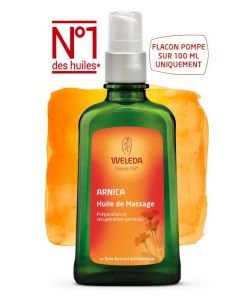 Massage Oil with Arnica, 100ml