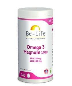 Omega 3 Magnum 1400, 140capsules