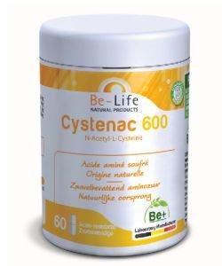 Cystenac 600 (acide aminé soufré), 60gélules