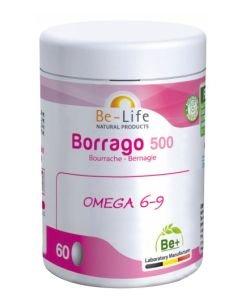 Borrago 500 (huile de bourrache) BIO, 60capsules