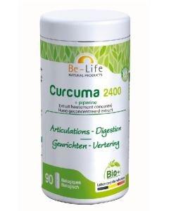 Curcuma 2400 (+Piperine) BIO, 90gélules