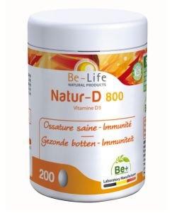 Natur-D 800 (vitamine D3), 200capsules