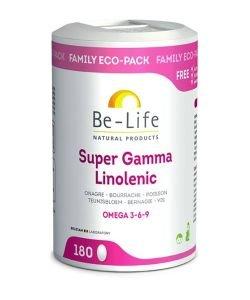 Super Gamma Linolenic (Omega 3-6-9), 180capsules