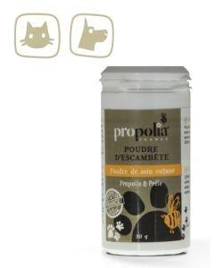 Poudre de soin cutané - Chiens et chats, 30g
