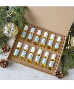Aromathèque de 12 roll'on d'huiles essentielles - Equilibre émotionnel BIO, pièce