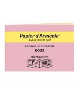 """Carnet """"la Rose"""", pièce"""